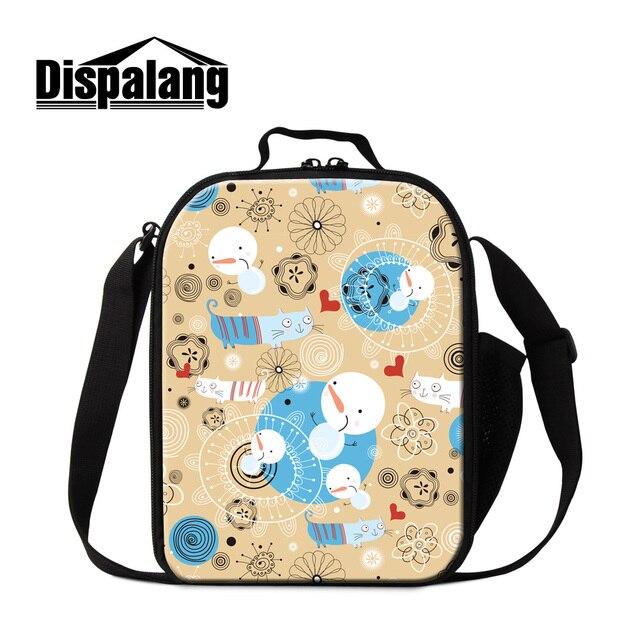 Dispalang creative personnalisé sacs à lunch pour enfants bande ...