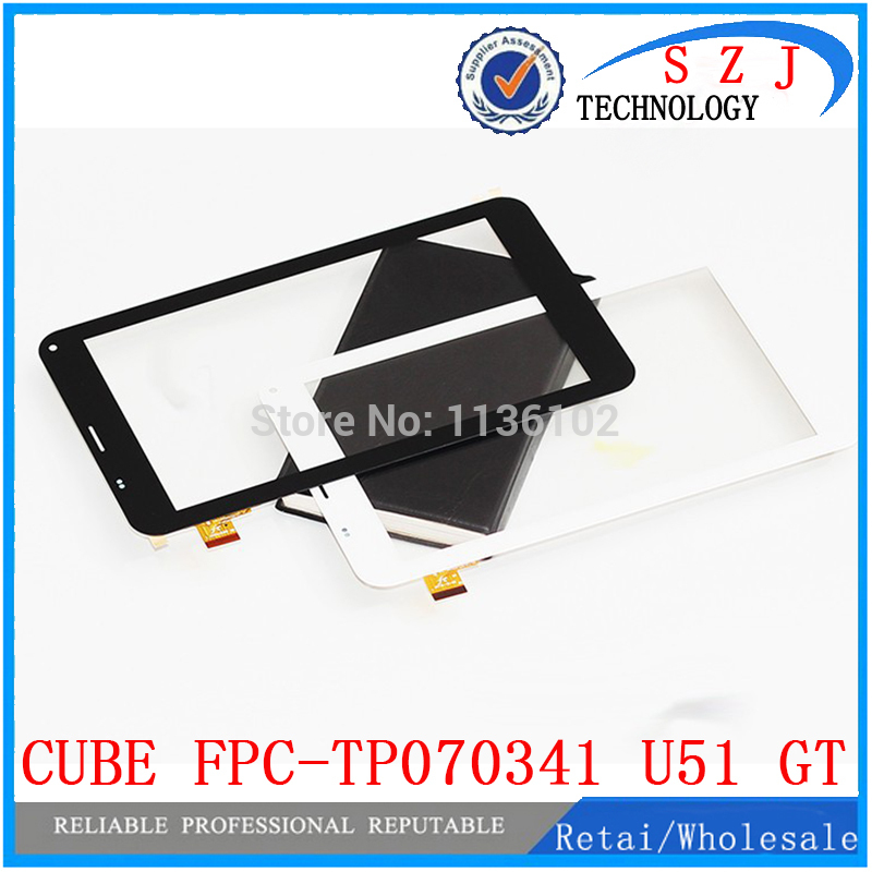 7 inch case C UBE talk 7x external screen capacitive touch screen U51GT touch panel FPC-TP070341u51gt Free shipping 10pcs 7 inch fpc tp070341 fpc tpo034 glass for talk 7x u51gt touch screen capacitance panel handwritten noting size and color