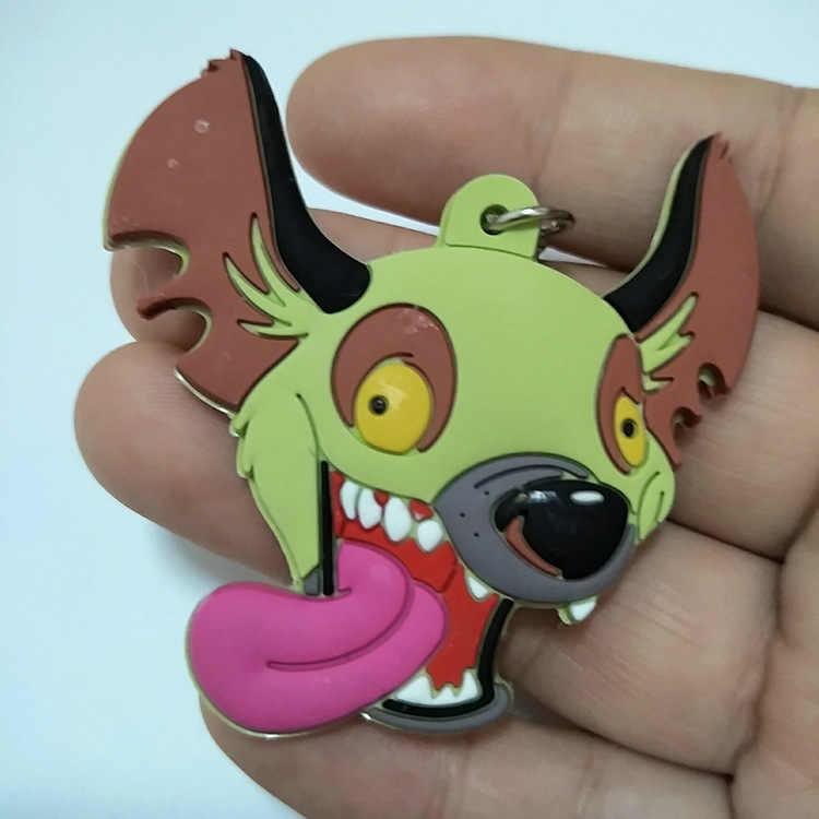 الأسد الملك hyenas مفتاح إد banzai الحيوانات شنق الإعلان الترويجية هدايا الوجهين سيليكون