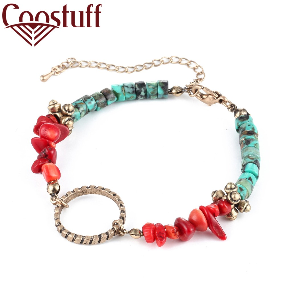 Handmade Nature Stones Bead bracelet Women masculina jewelry bracelets & bangles pulseira charm for women bijoux bangle
