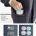 1 PC Mini Easy-Use Reusable Cartoons Quick-acting Hand Warmer Warm Handbags Warm Paste Pads Winter Warm Supplies