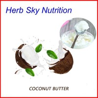 High Quality Best Price Organic Coconut Butter Coconut Fat For Cosmetics SPA With Free Shipping