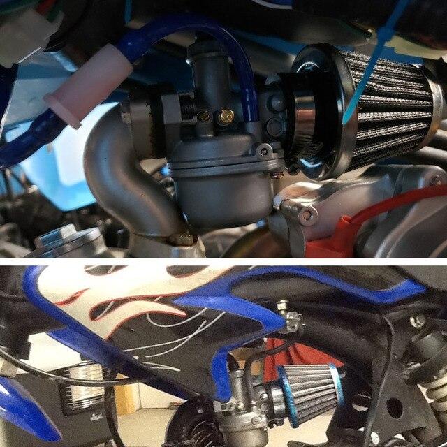 Alconstar Color PWK OKO KOSO KEIHIN CVK 21-30mm 50cc-200cc   Moteur adaptateur de carburateur Performance, filtre à Air 50mm, nettoyeur