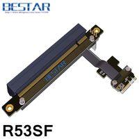 M.2 NGFF Key A+E To PCIe 16x Riser Extender Adapter Card Cable 5cm 80cm Gen3.0 Key A.E m2 pci e x16 For PCI E 1x 2x 4x 8x 16x