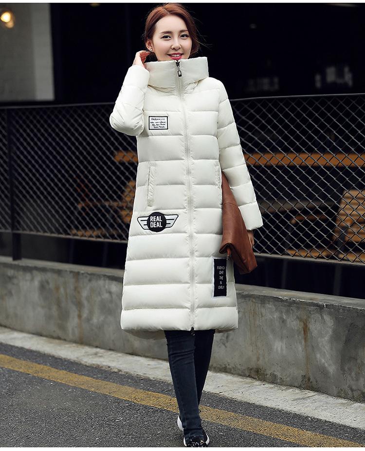 2b361a9b3bd M 3XL 2017 women winter jacket women's coats cotton down super warm  waterproof windproof black white gray red long parkas-in Parkas from Women's  Clothing on ...