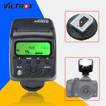 Универсальный на-камера мини Вспышка Speedlite VILTROX JY-610 II JY610II фонарик для Nikon D3300 D5300 D7100 для Canon 5D Mark DSLR