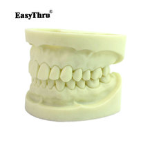 Standard white fused alumina dental model cavity preparation practice standard tooth model tooth preparation dental removable dental model dental tooth arrangement practice model with screw teaching simulation model oral materials