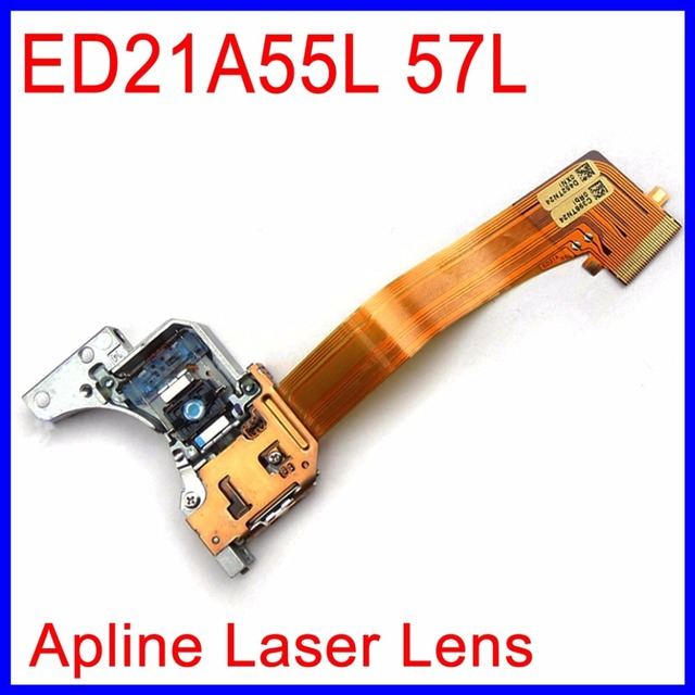 Alpine DVD Nav laser ED21A55L 57L Óptico Pick-up Para HondAcr Ford Lincoln Chrysler Navegação Áudio Do Carro IVA-W202 DHA-S690