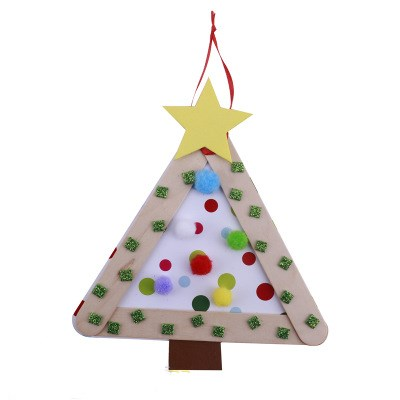 o kids diy christmas tree decorations xmas hanging ornaments home decor happy new year 2018 children christmas gift in pendant drop ornaments from