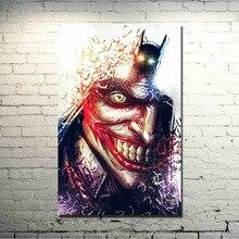 Joker De Batman Arkham Origins Juego Seda Del Arte Poster 13x20 20x30 Pulgadas Pictures For Living Room Decoracin Gran Regal