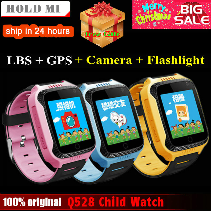 Espera Mi Q528 Y21 pantalla táctil niños Reloj GPS con cámara iluminación reloj inteligente Monitor de sueño GPS SOS reloj de bebé PK Q60