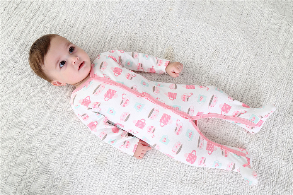 Baby Girl Boy Long Sleeve 100% Cotton Newborn Baby Clothes Baby Girl Spring Autumn Clothing Infant Baby Rompers