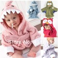 Free Shipping  6 color Children 's Bathrobe / Bathrobe Children / Bathrobes