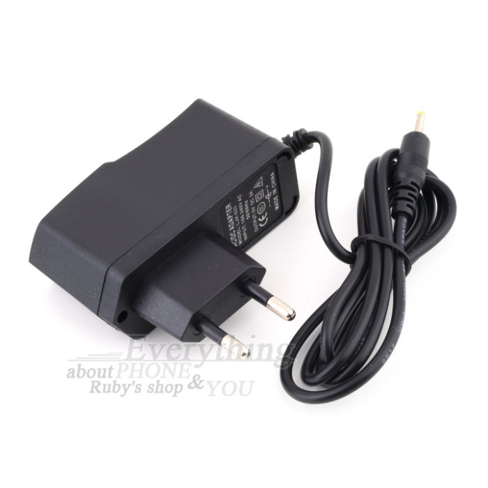 1pc EU Plug 5V 2A DC 2.5mm IC Power Adapter AC Charger for Android Tablet Universal Wholesale Drop Shipping