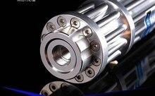 high power blue laser pointer 1000000mw 1000w 450nm Lazer Beam Military burning match/paper/dry wood/candle/black/burn cigarette