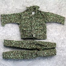 1/6 Scale Clothing Accessories Russian Floral Camouflage Jungle Suit(Jacket+pants) Fit 12 Inch Soldier Action Figure Toys Doll недорого