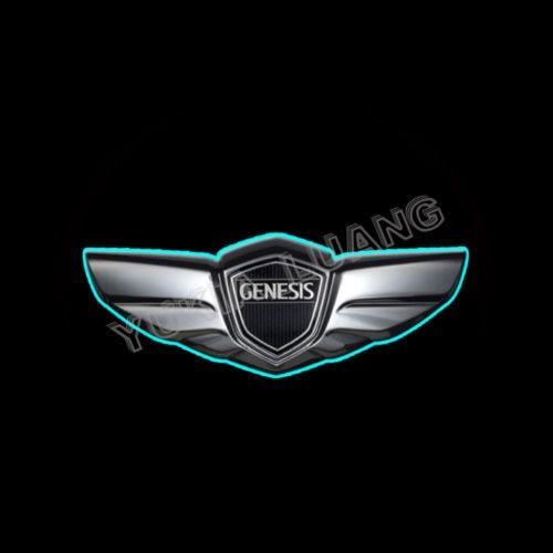 Genesis Car Logo >> 2x Genesis Logo Car Door Laser Projector Ghost Shadow Led Light In