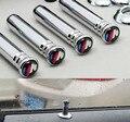 4 Pcs/Set Car Styling M Logo Modified Door Pin Lock Decorative Auto Accessories For BMW X1 X3 X5 X6 E36 E39 E46 E30 E60 E90 E92