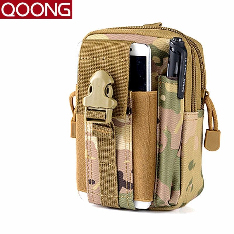 2016 पुरुष मोले कमर बैग फोन बैग मामले पुरुषों की कमर पैक निविड़ अंधकार फैनी बैग सिक्का पर्स यात्रा बैग आयोजक YB1-016