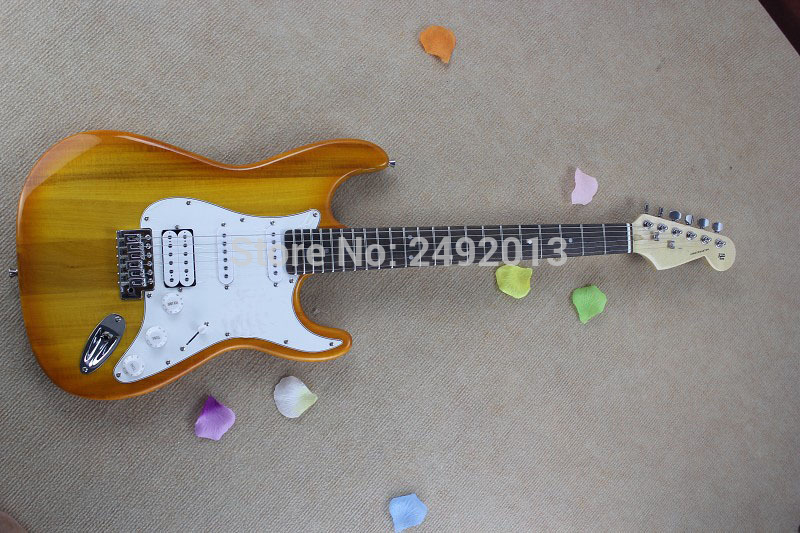 Free shipping ! High Quality Wholesale original custom body Stratocaster Electric Guitar In Stock @2 free shipping stock high quality original ie60 headphone moving coil unirt micdriver dynamic earphone no package