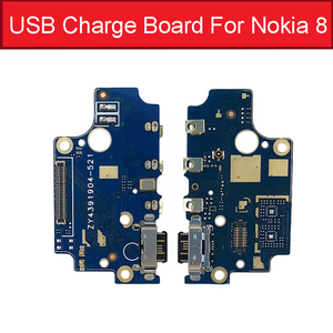 Image 4 - Charger USB Jack Board For Nokia 2 2.1 3 3.1 Plus 5 5.1 6 6.1 7 7.1 Plus 8 Charging USB Port Board Module Replacement Parts