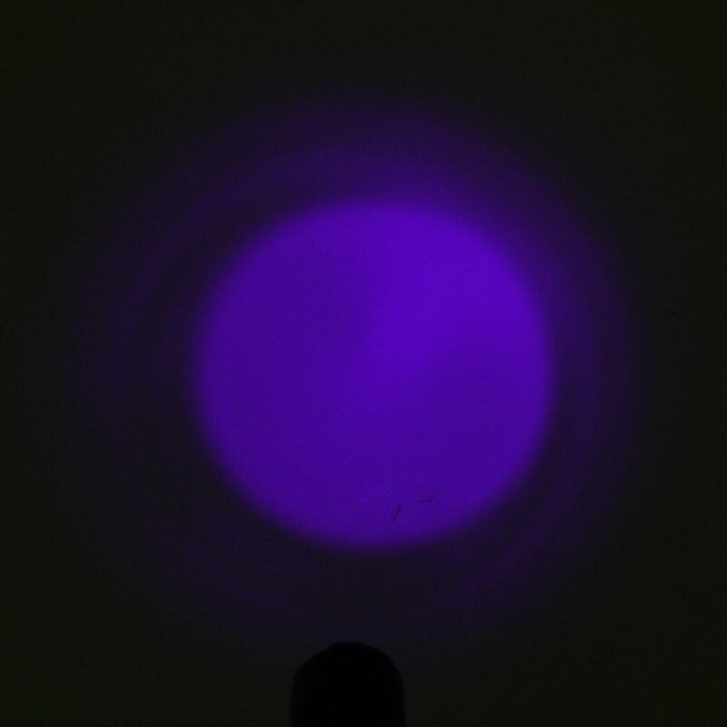 1 Ajustável Luz Verde Vermelho LUZ UV