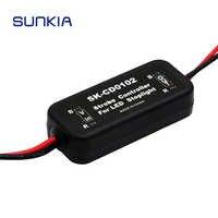 Módulo intermitente del controlador estroboscópico del Flash DE LA GS-100A para la lámpara de la luz de freno del coche 12-24V de protección de cortocircuito CD0100/01/02