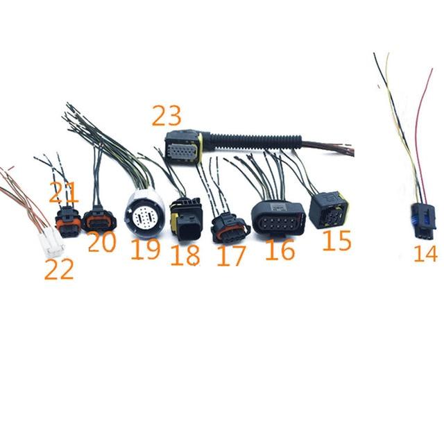 us $1 98 11% off 1pc car nitrogen oxygen sensor plug harness connector sockets for honda mazda renault suzuki, 10 types optional in cables, adapters \u0026