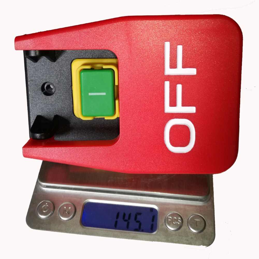 kedu 220v 240v 18a 16a 5e4 table saws electromagnetic pushbutton switch paddle switch  [ 1000 x 1000 Pixel ]