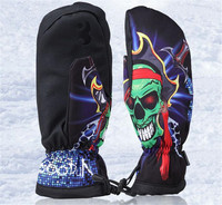 Boodun New Winter Thermal Ski Gloves Waterproof Cool Resistant Snowboard Snow Gloves Outdoor Sports Men Womens