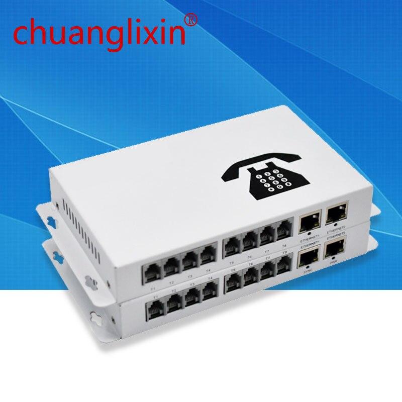 Chuanglixin 8 Ch PCM convertisseur de média optique à Fiber téléphonique avec 2 ports Ethernet FC monomode 20Km
