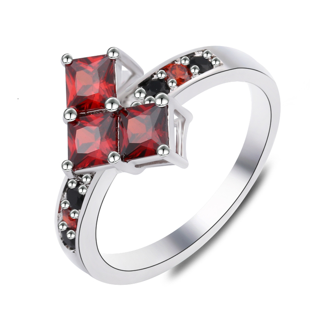 Suicide Squad Ring Harley Quinn Poker Shape Puddin Joker Rings