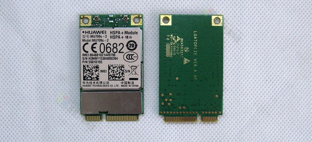 Hua Wei MU709s-2 Mini-pcie HSPA + de DOBLE BANDA UMTS 3G moudle Wireless MU709S MU709