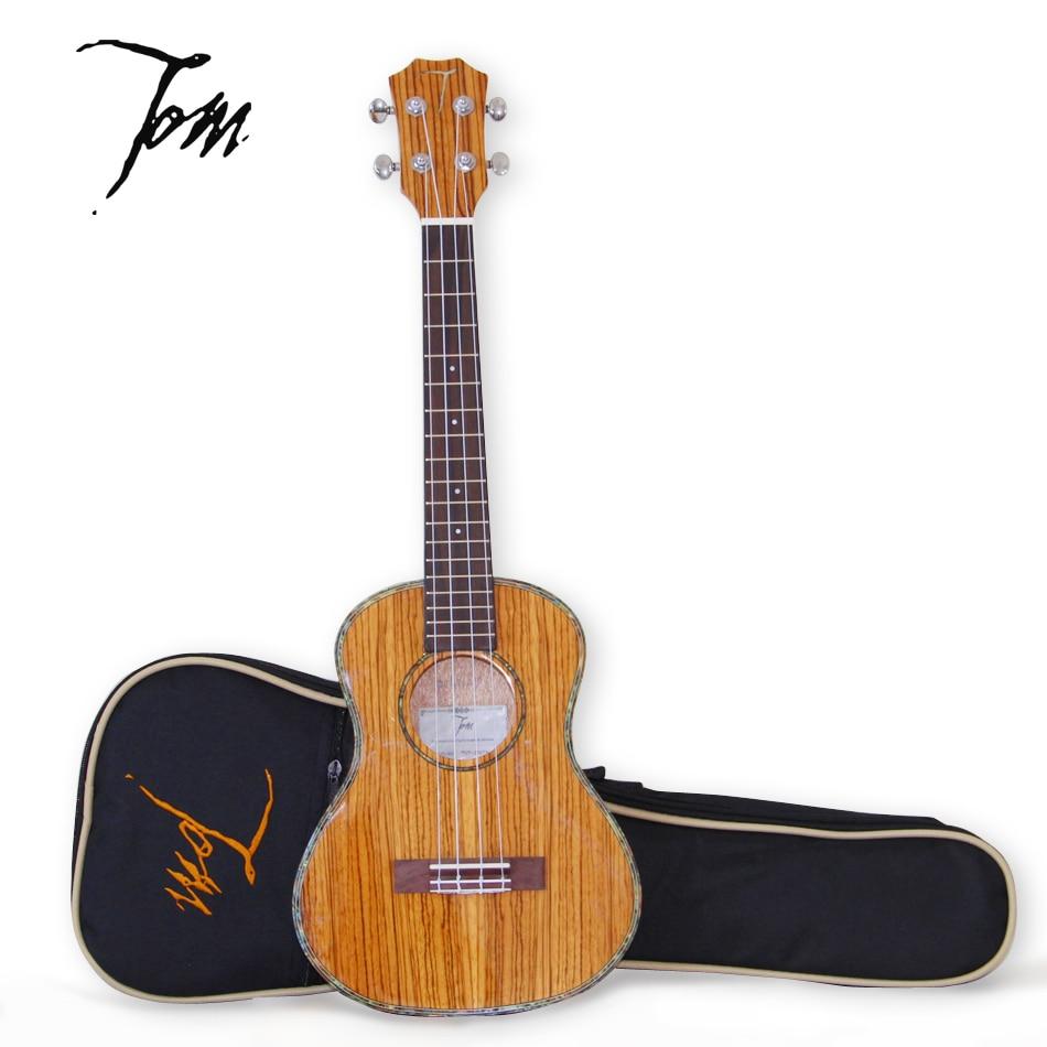 все цены на China Tenor  26 inch Ukulele  Tom TUT-300TN Zebra Series Ultrathin Guitar Ukulele (ps: no stand) онлайн