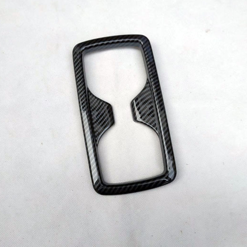 for toyota rav4 rav 4 xa50 2019 2020 interior accessories parts water cup AT Gearbox cover trim plastic carbon fiber in Interior Mouldings from Automobiles Motorcycles