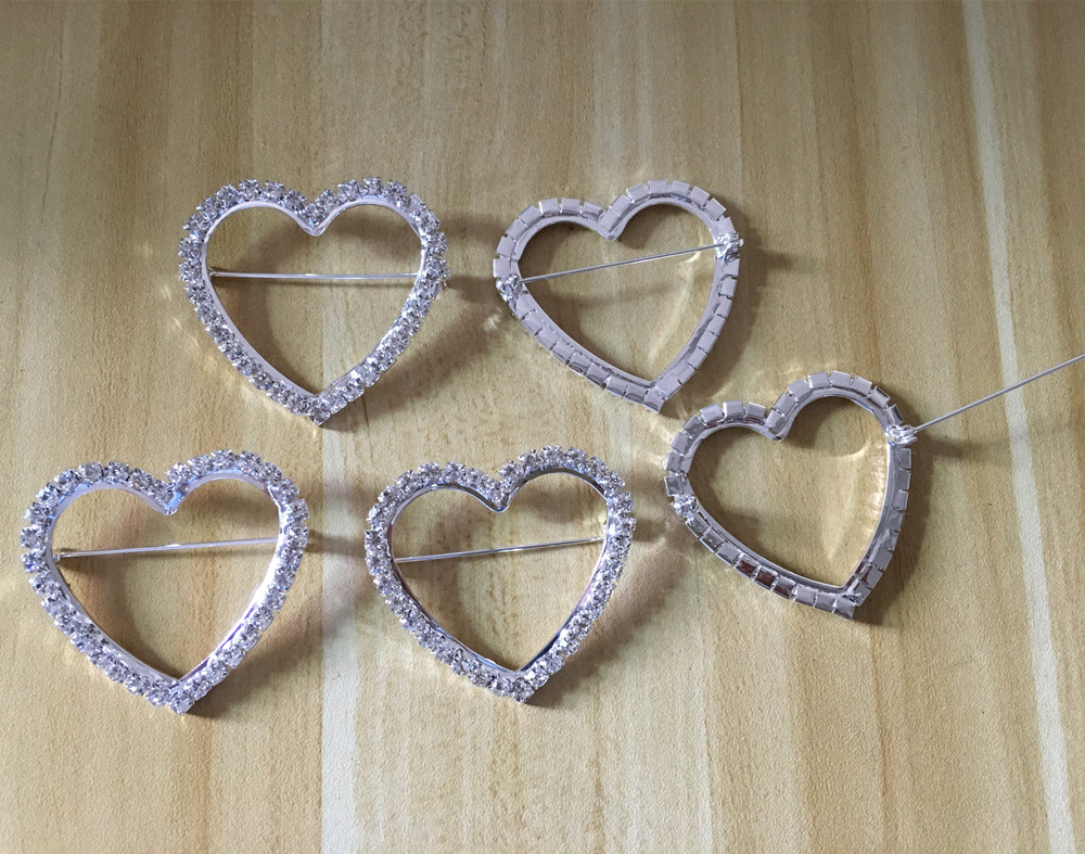 Home & Garden Skillful Knitting And Elegant Design Practical Cjsir 10pcs 48x40mm Heart Big Buckle Chair Sash Buckles Made Of Aaa Rhinestone 40mm Bar Wedding Party Decor To Be Renowned Both At Home And Abroad For Exquisite Workmanship