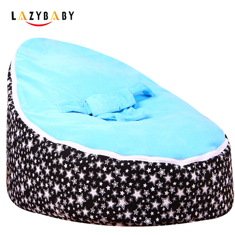 Lazybaby Large Star Baby Bean Bag Chair Kids Bed For