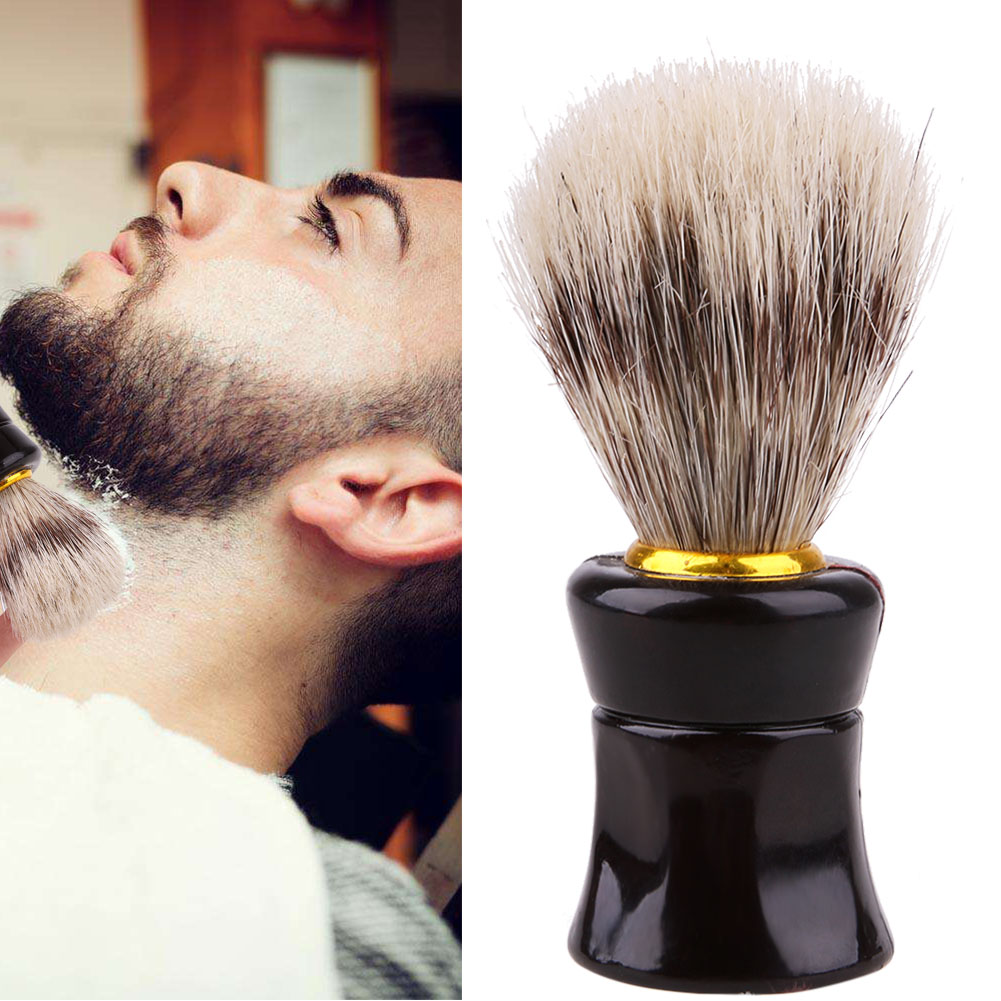 גברים מברשת גילוח בעבודת יד כסף טיפ מברשות גילוח כלי גילוח גילוח מברשת גילוח & שיער הסרת שיער אביזרים