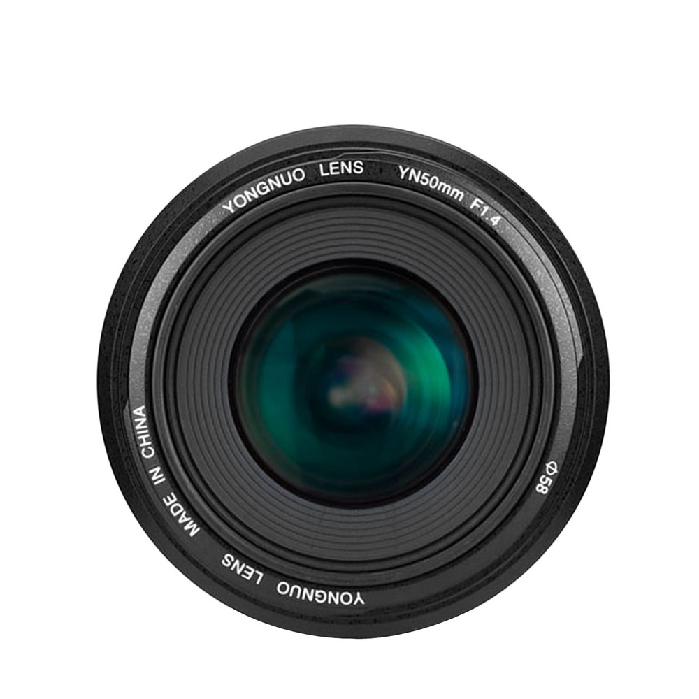 YONGNUO YN50mm F1.4 Standard Prime Lens Auto Focus (AF) & Manual Focus (MF) Lens for Canon Camera with Focus Distance Indicator