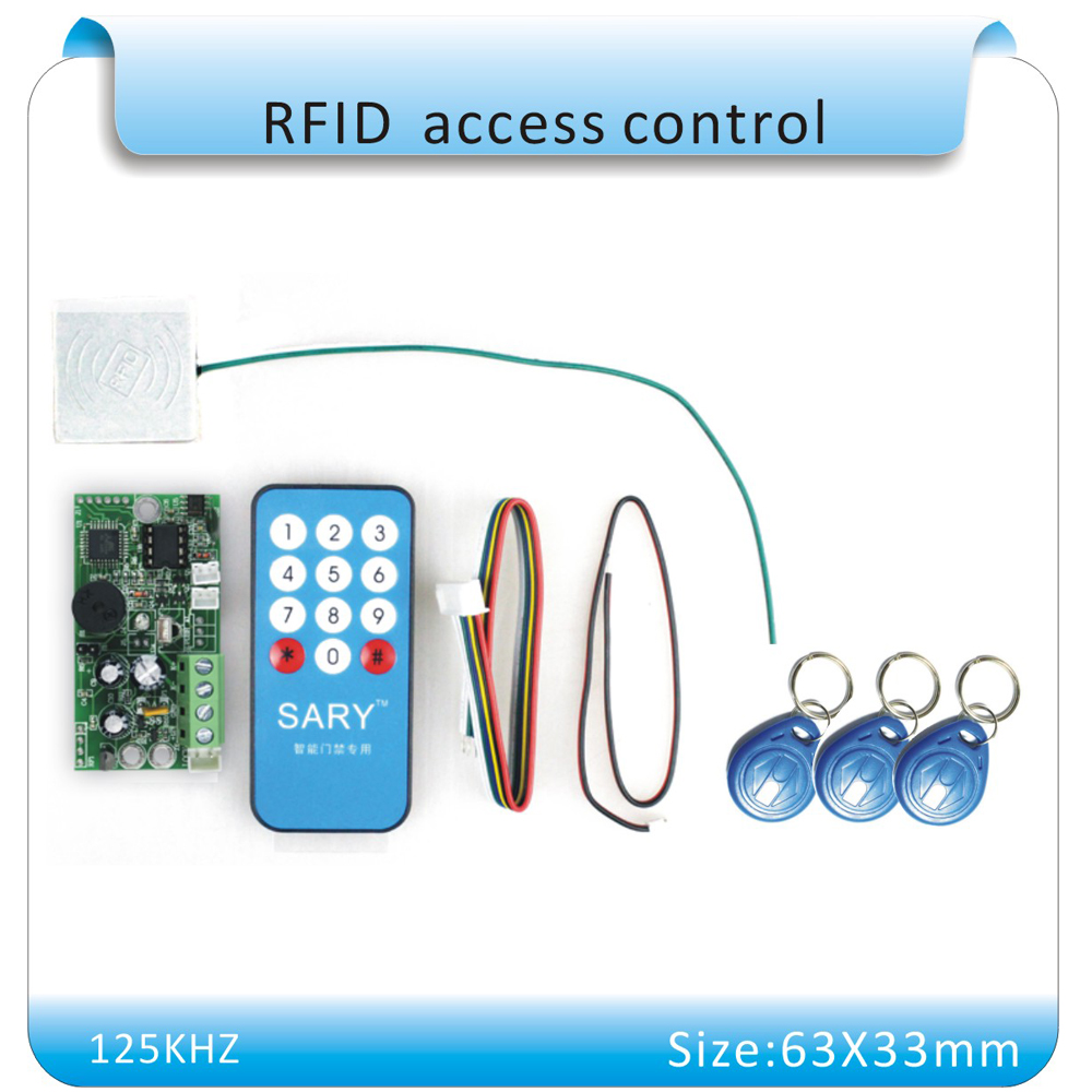SY - 1788 RFID embedded entrance guard system control module/ Building intercom access module 125KHZ Double reader +10pcs cards metal shell touch keyboard 125khz rfid access control system entrance guard password and rfid 10pcs crystal keyfob