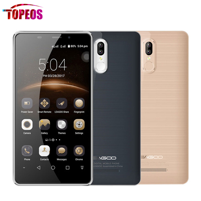 5.7 Inch Leagoo M8 Pro Smartphone Dual Rear Cameras Android 6.0 MT6737 Quad Core 2GB+16GB 4G LTE Fingerprint Mobile Phone