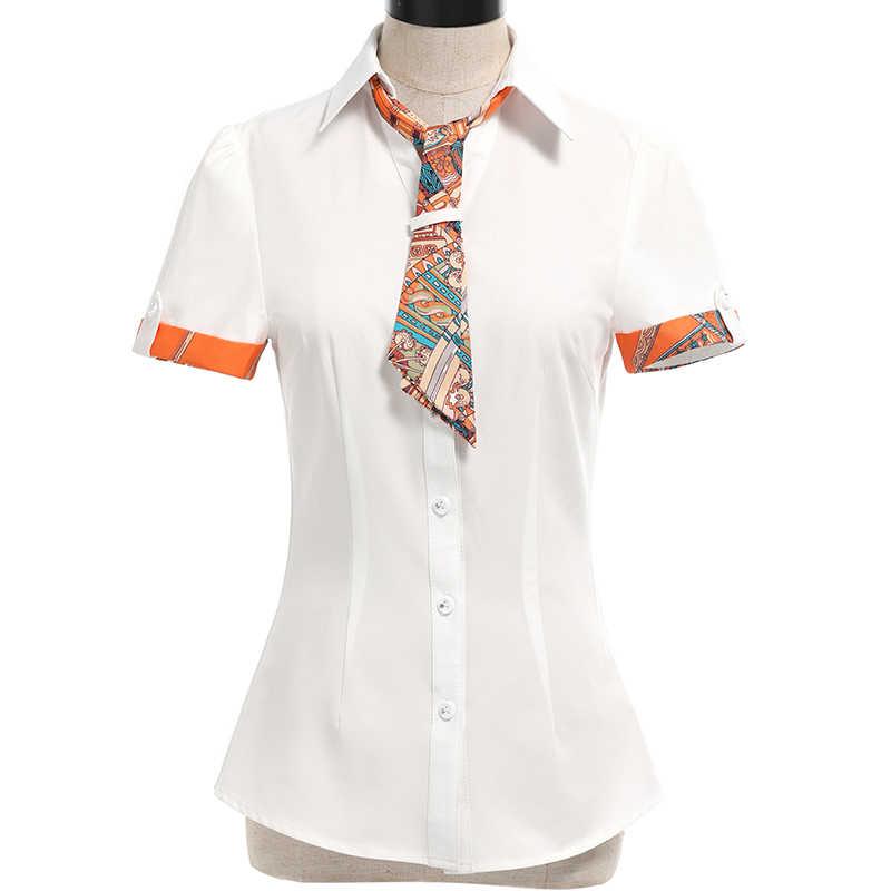 516202fd601 ... Летние шифоновые Блузки для малышек Для женщин Мода элегантный v-образным  вырезом Рубашки для мальчиков