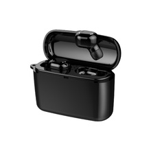 цена на exuanfa TWS Wireless headphones with charging box Power bank for redmi note 4 phone for iphone Stereo Bluetooth Headset