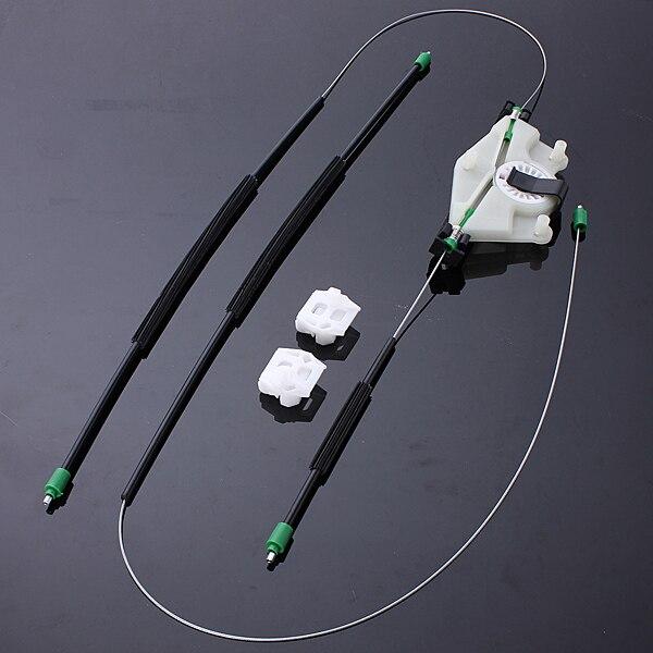 Prix pour Avant Droit Côté Entraînement Électrique Fenêtre Régulateur De Réparation Kit Pour VW Golf Bora Mk4