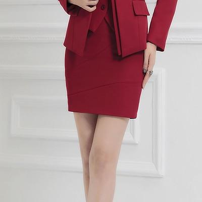 Online Shop 2017 New Arrival Women Formal Mini Skirts Slim Three ...