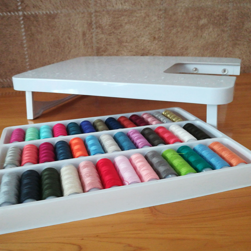 Small Table 39 Color Thread SET Mini Multifunction Expansion Platform Portable FHSM 505a Sewing Machine Accessories