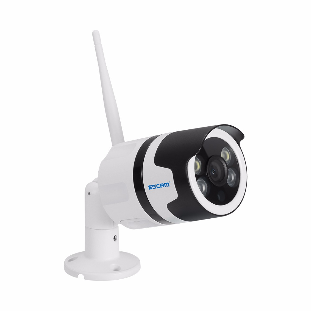 IP Camera HD Outdoor Waterproof Infrared Night Vision Security Video Surveillance for QF508 escam qf508 ip camera 128g 1080p 2mp waterproof outdoor full color night vision security camera infrared bulllet camera