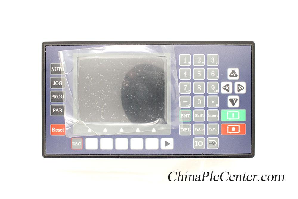 4 ejes 3.5 pulgadas LCD color controlador CNC torno mini fresadora servo máquina de coser USB láser