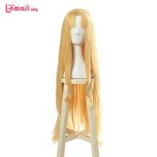 L e mail peruca tate nenhum yuusha nenhum nariagari filo cosplay perucas longa loira reta cosplay peruca resistente ao calor do cabelo sintético