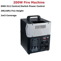 Free Shipping 200W DMX Fire Machine Stage Lighting Effect Dj Equipments Fire Machine Good For Party Wedding XMAS Lighting Shows